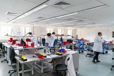 Sagentia Innovation manufacturing facility