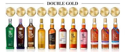 Kavalan collects a record 11 Double Gold medals