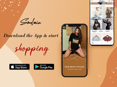 Soulmia shopping app is now available.