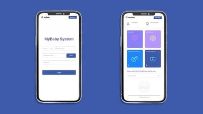 MyBaby App Interface