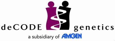 deCODE genetics Amgen Logo