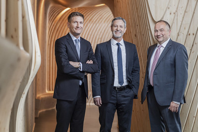 Spielwarenmesse eG is now led by a three-member Executive Board (from left): Florian Hess, Christian Ulrich (Spokesperson) and Jens Pflüger take up the reins on 1 July.