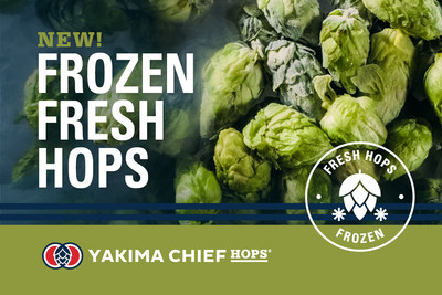 Yakima Chief Hops, a global hop supplier, has launched a new innovative product, Frozen Fresh Hops, allowing them to ship freshly harvested hops to more brewers across the globe to create fresh hop ales for the craft beer community.