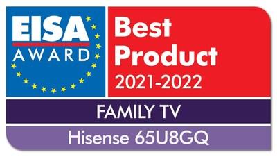 Premio EISA (PRNewsfoto/Hisense)